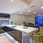 Стили интерьера квартиры с освещением