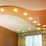 Рассмотрим подробно натяжные потолки с освещением