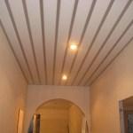 Установка реечного потолка своими руками при освещении
