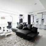 Классический минимализм или чернобелый дизайн интерьера