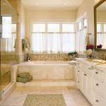 Дизайн ванной при свете и релаксация — особенности