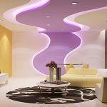 Хорошие идеи потолка для Вашего подвала с освещением