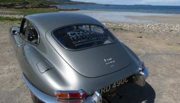 Classic Travelling E-type in Ireland