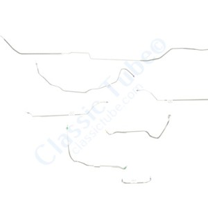 Buick GS  Brake Line Kit  Convertible - Power Drum -1970