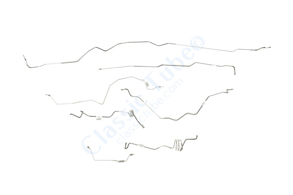 Ford  F350 Brake Line Kit  4WD Regular Cab Long Bed Super Duty Diesel Motor Non Dual Rear Wheels -2000,2001,2002,2003,2004