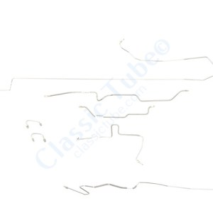 Jeep Comanche Brake Line Kit  With Dana 44 Axle with 7' Box -1987,1988,1989,1990