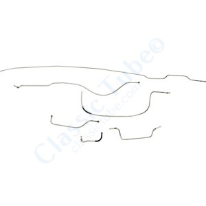 "Packard 6 Brake Line Kit  115"" Wheelbase -1937"