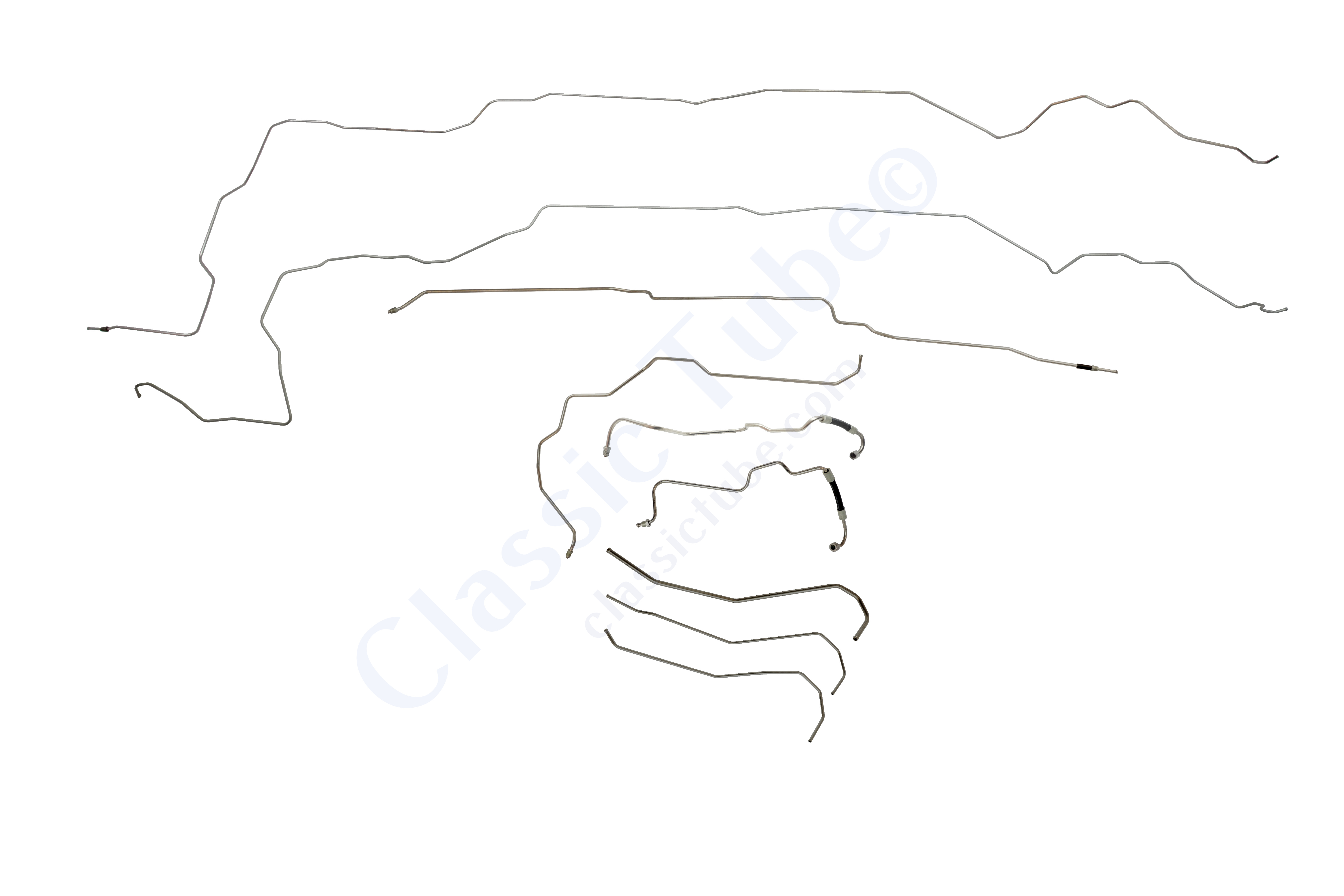 Buick Grand National Complete Fuel Line Kit 9 Pc