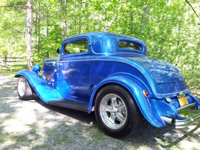 1932 Ford 3 Window Coupe  454 Chevy Engine