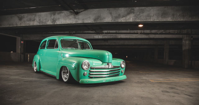 1947 Ford Hot Rod Two Door Daily Driver Custom Air Ride