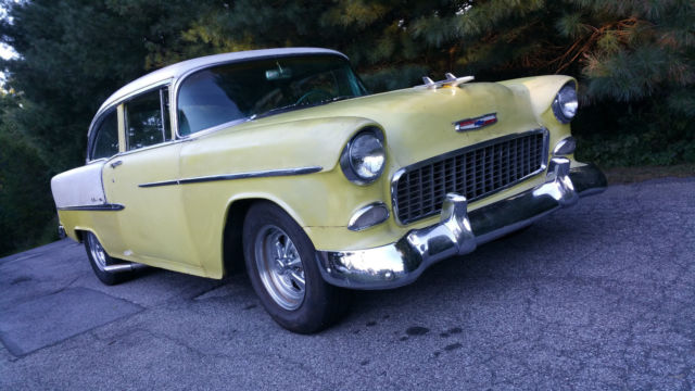 1955 Chevy Bel Air Post