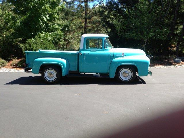 Wiring Ford Old Cars 1956 Ford F100 Short Bed Pickup Fully Restored 292 V8