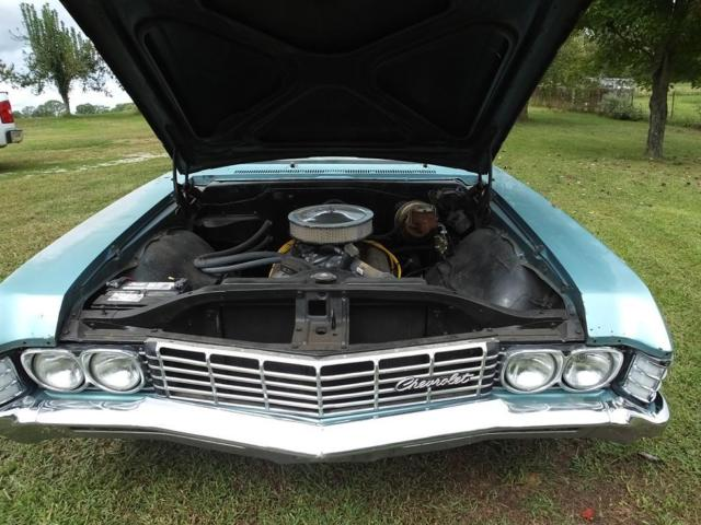 1967 Chevy Impala 4 Door Black