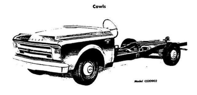 1967 Chevy Mini Bread Truck