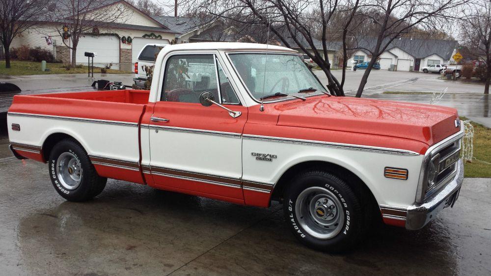medium resolution of 1970 chevy cst 10 396 short box chevrolet 70 67 72 pickup gmc 1971 1969