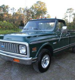 1971 chevrolet cheyenne c 10 custom sport truck c10 pickup chevy original look [ 1600 x 1066 Pixel ]