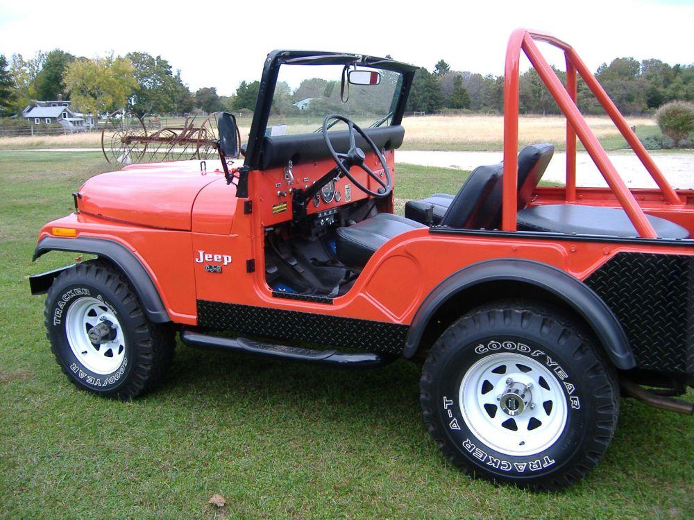 medium resolution of jeep cj5 v8