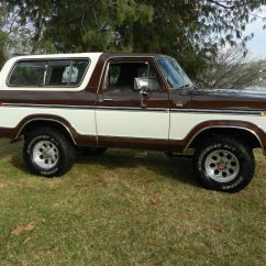 Ford F150 Bronco 7 Way Rv Trailer Connector Wiring Diagram 1979 4x4 Xlt Rare Orignal Paint And Body