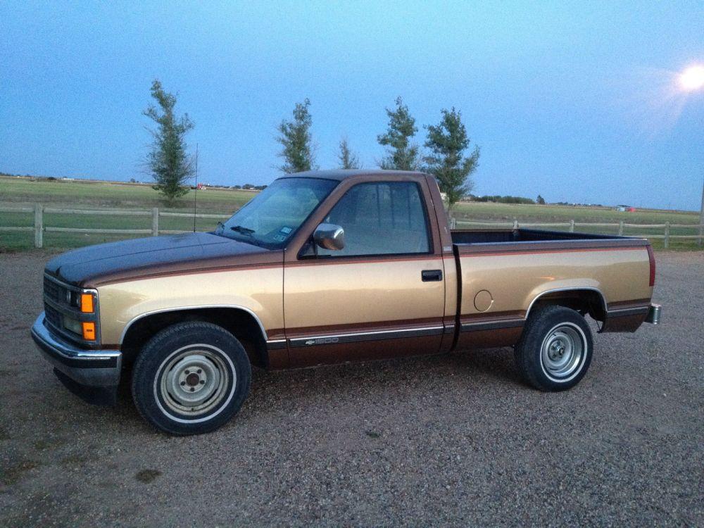 medium resolution of 1989 chevy silverado 1500 c k1500 pickup truck chevrolet 5 0 l fleetside swb