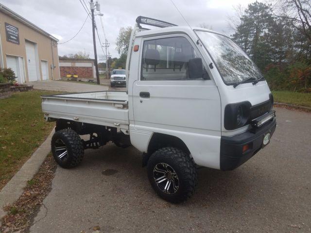 1990 Suzuki Carry 4x4 Mini Truck Japanese Kei Truck