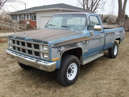 small resolution of gmc 3 4 k25 4x4 6 2l diesel oem paint 99 rustfree 1987 chevrolet