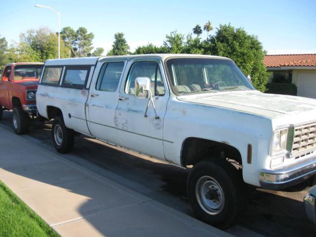 1976 Chevrolet Crew Cab