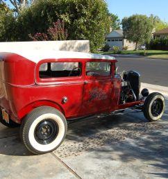 restored vintage 1930 ford model a sedan hot rod 30 w 32 dash no reserve [ 1600 x 1063 Pixel ]