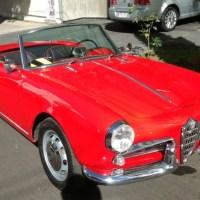 Latin passion: 1957 Alfa Romeo Giulietta Spider