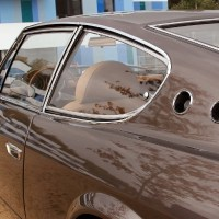 "Chestnut brown special: 1968 Fiat 125 ""Samantha"" by Vignale"
