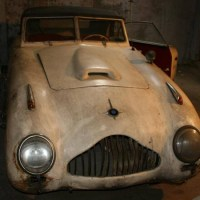 Monkfish face: 1950 Veritas Saturn-Scorpion by Spohn