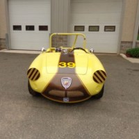 Long time racer: 1959 Abarth 750 Spider by Allemano