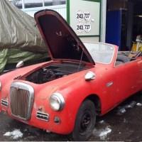 Prototype, maybe: 1950 Siata Daina Trasformabile
