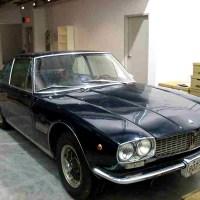 Geneva show car: 1967 Maserati Mexico 4700