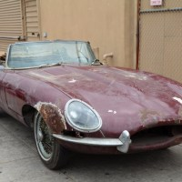 Aged wine: 1966 Jaguar E-Type O.T.S.