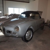 Correct wheels: 1960 Alfa Romeo Giulietta Spider Veloce