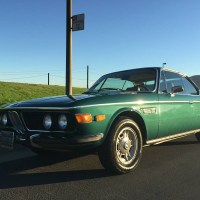 Tundra green: 1970 BMW 2800 CS