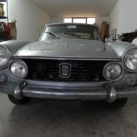 Matt silver: 1964 Fiat 1600S Osca Coupé by Pininfarina