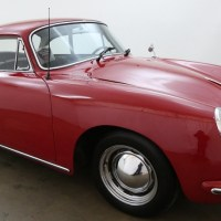 Notchback: 1962 Porsche 356 B-T6 Hardtop Coupé by Karmann