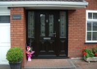 Palladio Composite Front Doors - Classic Window Replacements