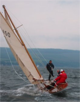 Pierrette at the Fife Regatta in 2003
