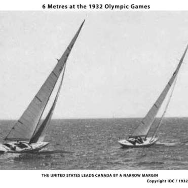 1932 Olympics - USA just leads Canada