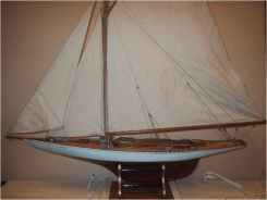 A model of Alca in the Swedish Maritime Museum