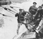 Britannia racing at Cowes, 1920