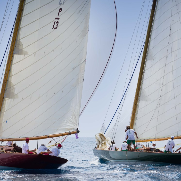Olympian and Chips match racing, Les Voiles d'Antibes, 2018 Ph: Guido Cantini / Panerai