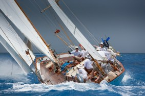 Dorade-leading-in-the-Classics-at-Les-Voiles-de-St.-Barth