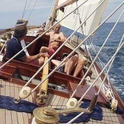 Kipawa on deck