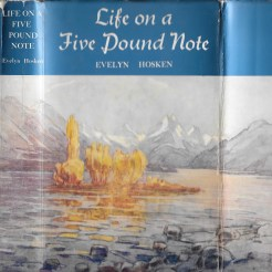 Life on a Five Pound Note - Evelyn Hosken - 1964 cover