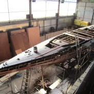 Marga under restoration