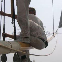 Mariquita spinnaker pole work - 2004_lrg