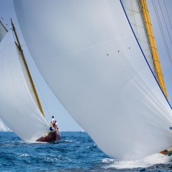 Olympian and Chips match racing at Les Voiles d'Antibes, 2018 Ph: Guido Cantini/Panerai